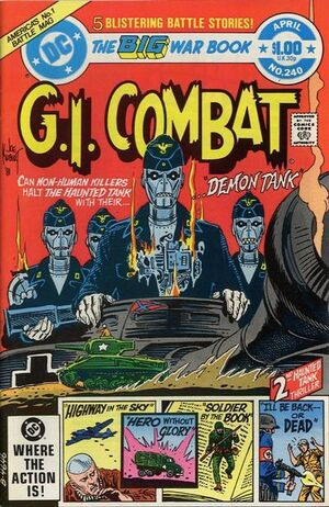 Cover for G.I. Combat #240