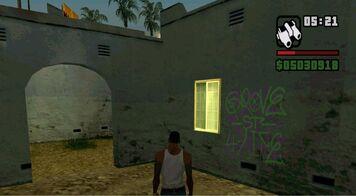 Gta San andreas: Graffitis, Almejas y herraduras.