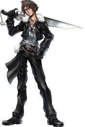 Dissidia Squall