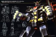 MRX-009 Psycho Gundam - Designs