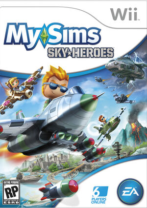 SkyHeroes Wii Boxart
