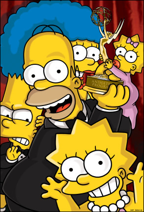 Simpsons Emmy