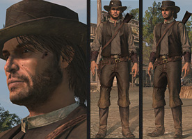 RDR unlocksRancherOutfit