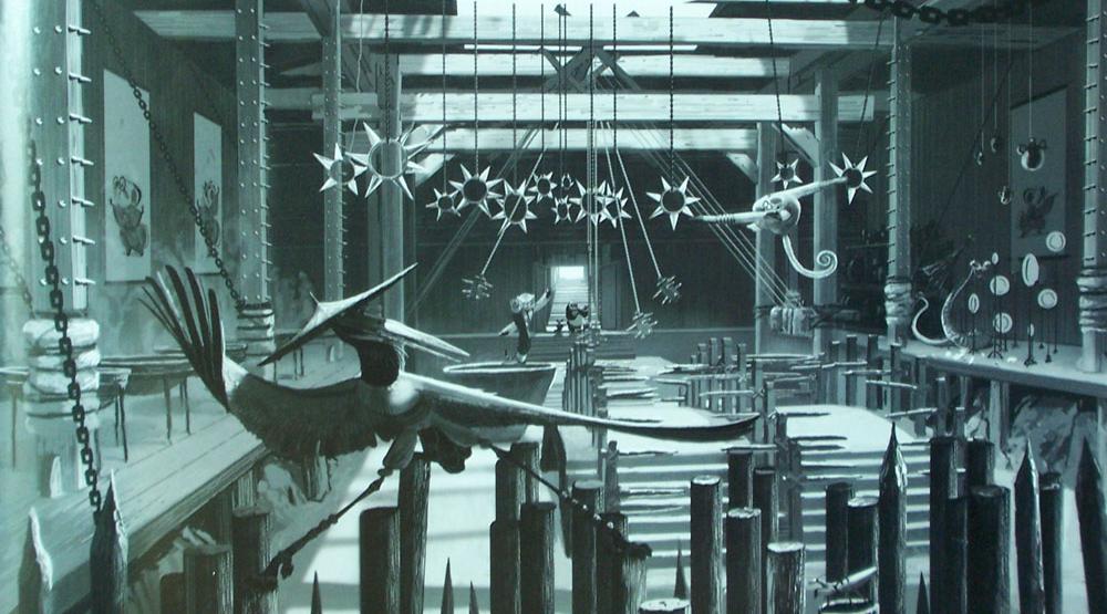 2. Harci Torna - Kurt Bozek / Griff vs Mammon Training-hall-art