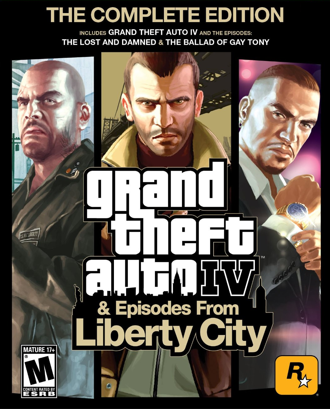 Grand theft auto iv episodes from liberty city the complete edition