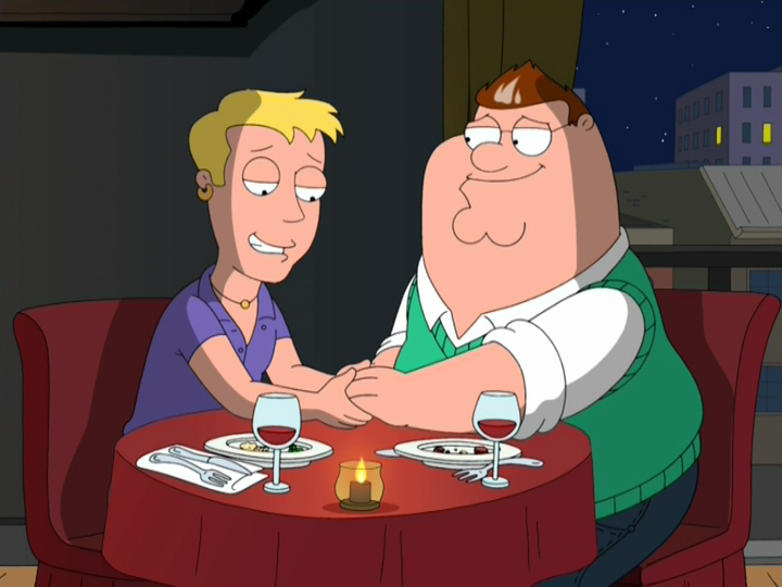 from Jerome family guy peter gay video