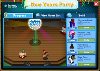 New Year&#39;s Party Rewards