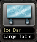 Ice Bar Large Table