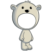 Polar Bear Costume-icon