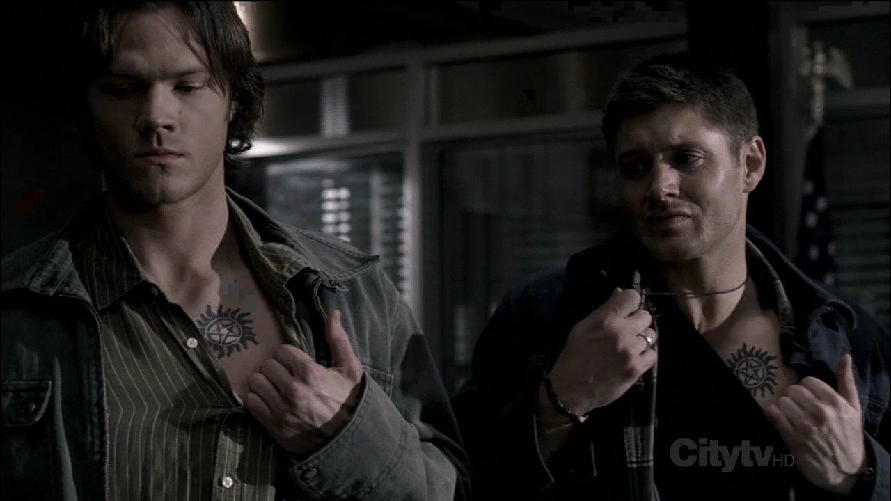 Image supernatural scary for Dean and sams tattoo