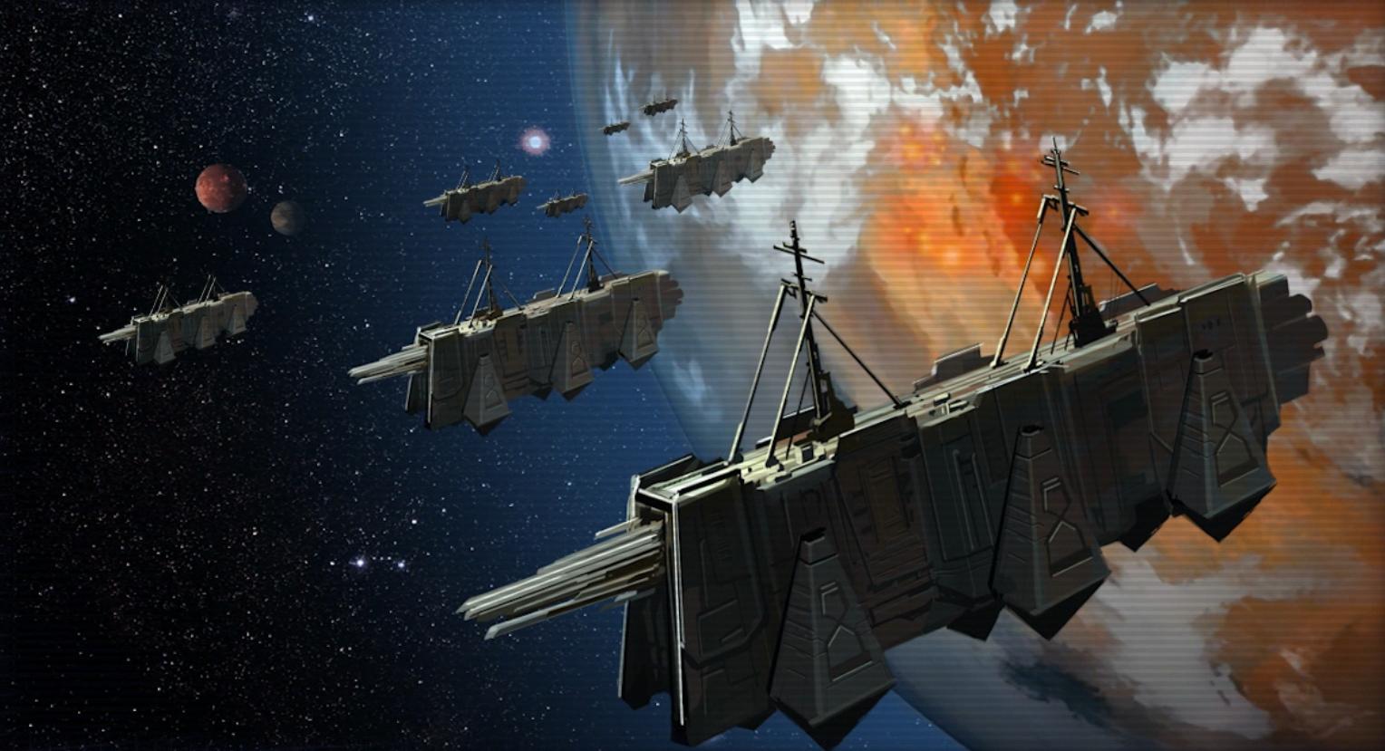 Het Sith Empire verlaat Korriban in schepen pngSith Empire