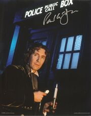 Paul mcgann signed photo