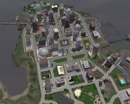 Top View of Bridgeport Central
