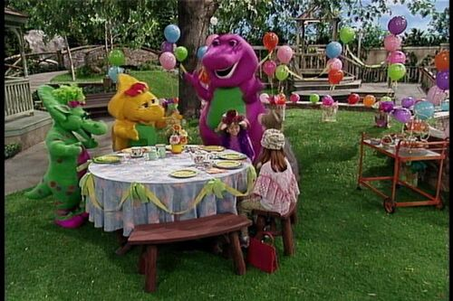 Tea Riffic Manners Barney Wiki