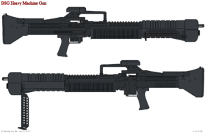 Cylon Heavy M-60 Rifle