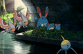 P13 Masquerain, Surskit, Azumarill, Marill y Azurill.png