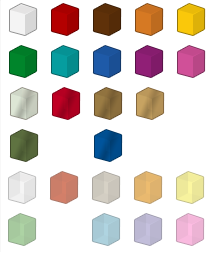 Color palette brickipedia the lego wiki for Lego digital designer templates