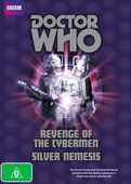 Revenge of the cybermen silver nemesis australia dvd