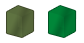 Metalic Green Colour Chart