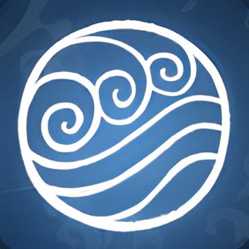 Waterbending emblem pngAvatar The Last Airbender Water Symbols