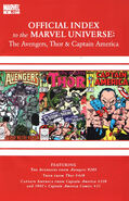 Avengers, Thor &amp; Captain America Official Index to the Marvel Universe Vol 1 9
