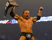 Triple H WWE Champion 2008