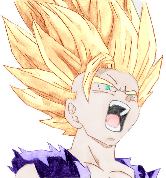 Dragon Ball Z Super Saiyan Coloring Pages. dragon ball z broly super