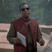 Geordi with sun glasses