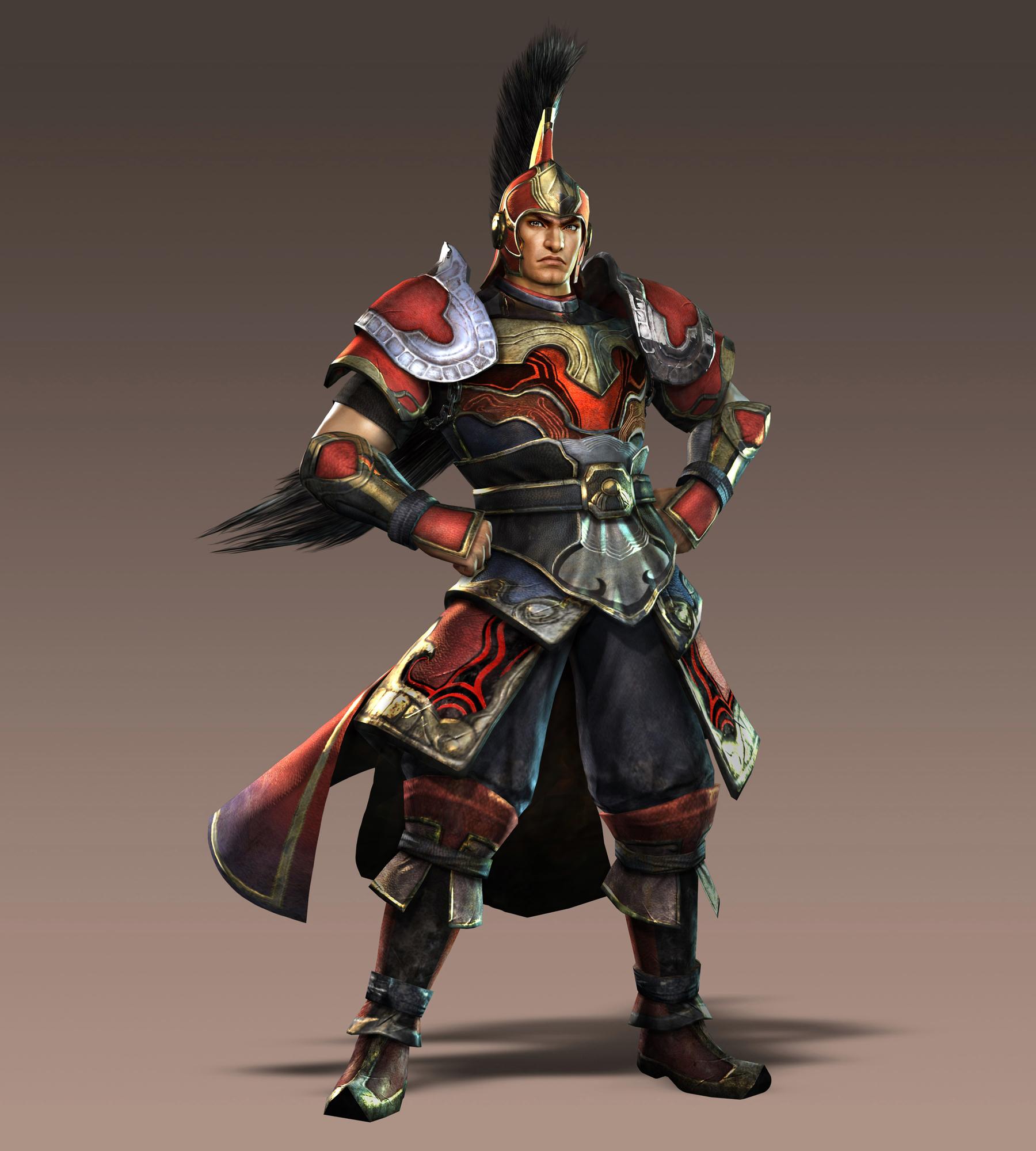 Warriors Orochi 3 Lian Shi: Personajes Dynasty Warriors 7