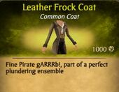 Leather Frock Coat