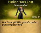 Harbor Frock Coat