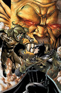 Etrigan Ragman and Batman Bruce Wayne
