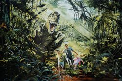 Movie-art-rex-attacks-jurassic-park