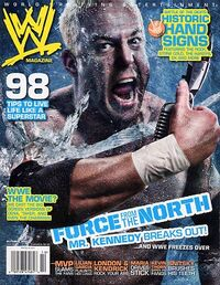 WWE Magazine Oct 2007