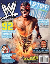 WWE Magazine Aug 2009