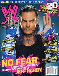 WWE Magazine Sept 2009