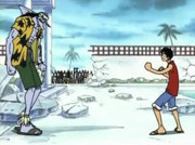 Luffy vs Arlong