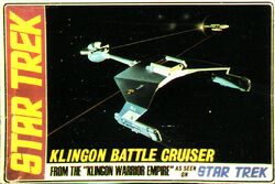 AMT Model kit S952 Klingon Battle Cruiser 1968