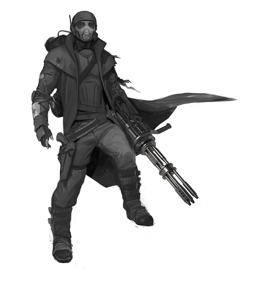 File:NCR Ranger concept4.jpg - The Vault, the Fallout wiki - Fallout ...