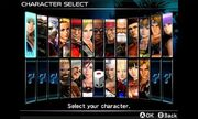 DOAD Character Selection