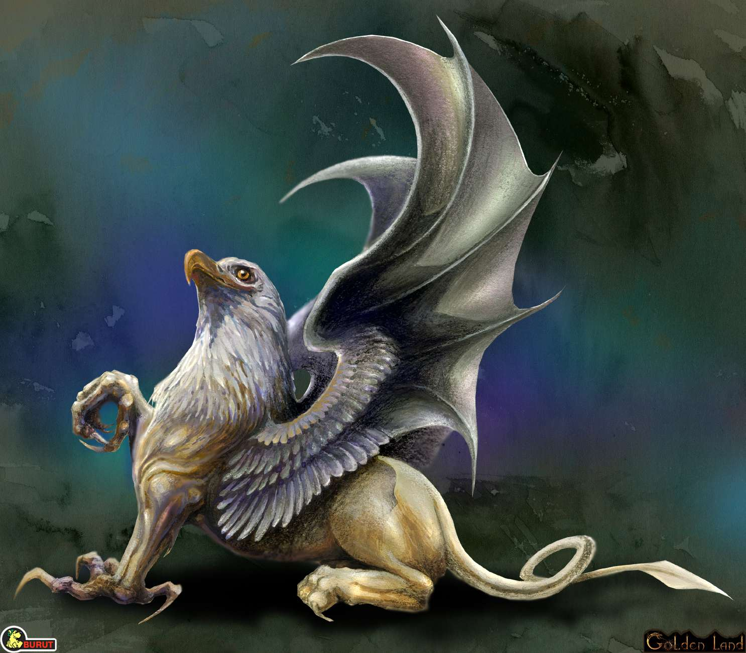 Mythical creatures griffin for The griffin