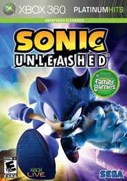 Sonic Unleashedplatinum