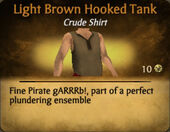 Light Brown Hooked Tank