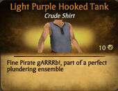 Light Purple Darker Hooked Tank