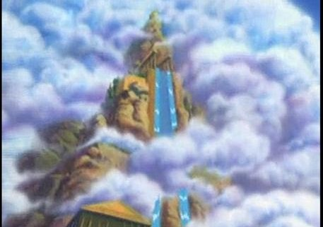 Olympus Home Of The Gods http://mythicwarriors.wikia.com/wiki/Mount_Olympus