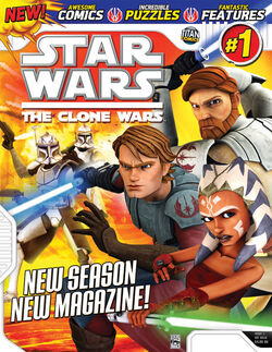 StarWarsTrademarkColonTheCloneWarsTrademarkMagazineNumbersignOne-Cover