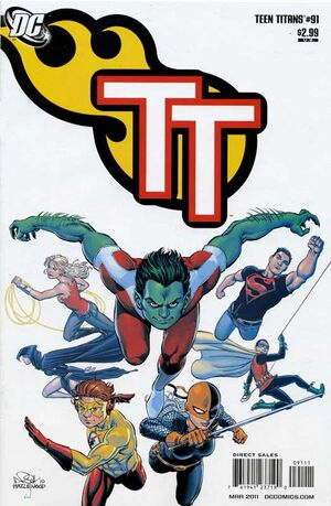 Cover for Teen Titans #91