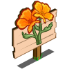 Golden Poppy Mastery Sign-icon