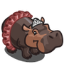 Ballerina Hippo-icon