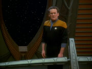 O'Brien sees himself talking to Quark
